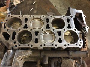 Nová pístní sada motoru 3,2 V6 162kW